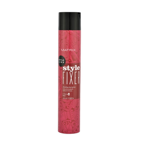 Matrix Style link Perfect Style fixer Anti-humidity finishing hair spray 400ml