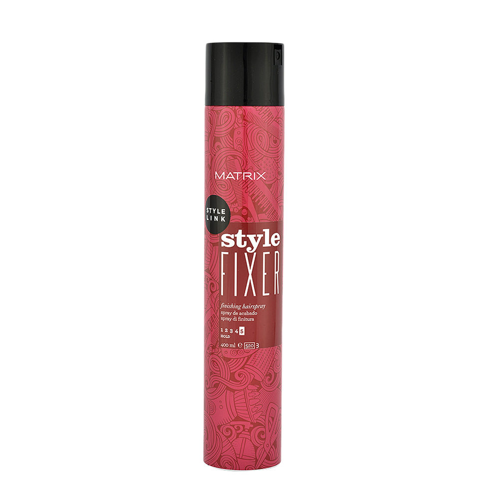 Matrix Style link Perfect Style fixer Hairspray 400ml - strong hold