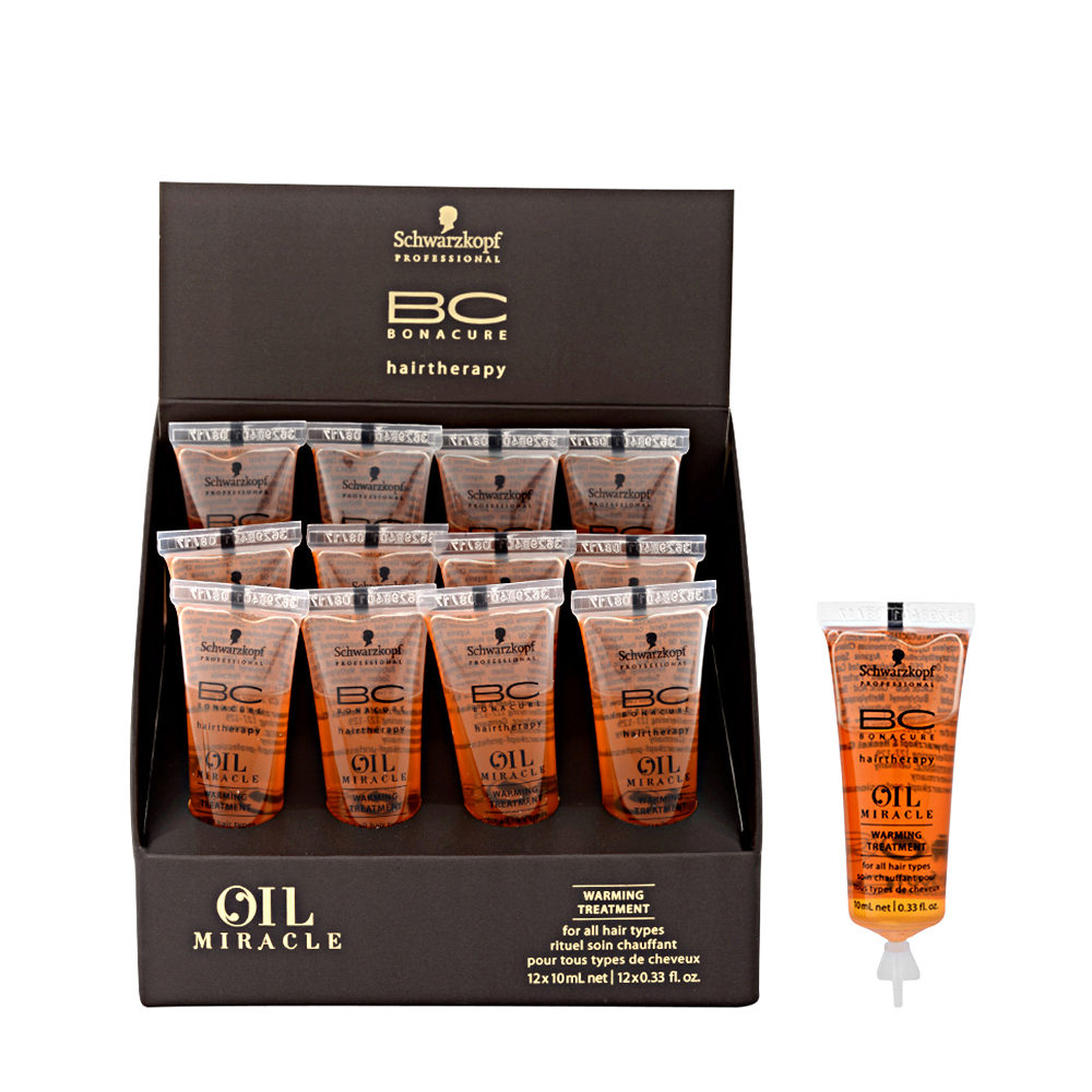 c8758cc946 Schwarzkopf Professional BC Oil miracle Warming treatment 12x10ml -  multibenefit