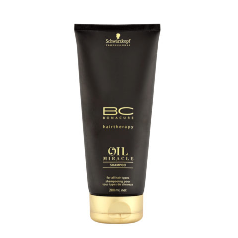 8bcf8c0c8a Schwarzkopf Professional BC Oil miracle Shampoo for all hair types 200ml -  for thick hair