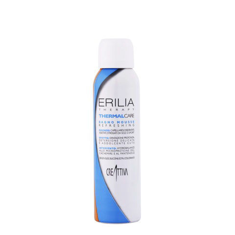 Erilia Thermal care Bagno mousse Refreshing 150ml - hydrating mousse shampoo