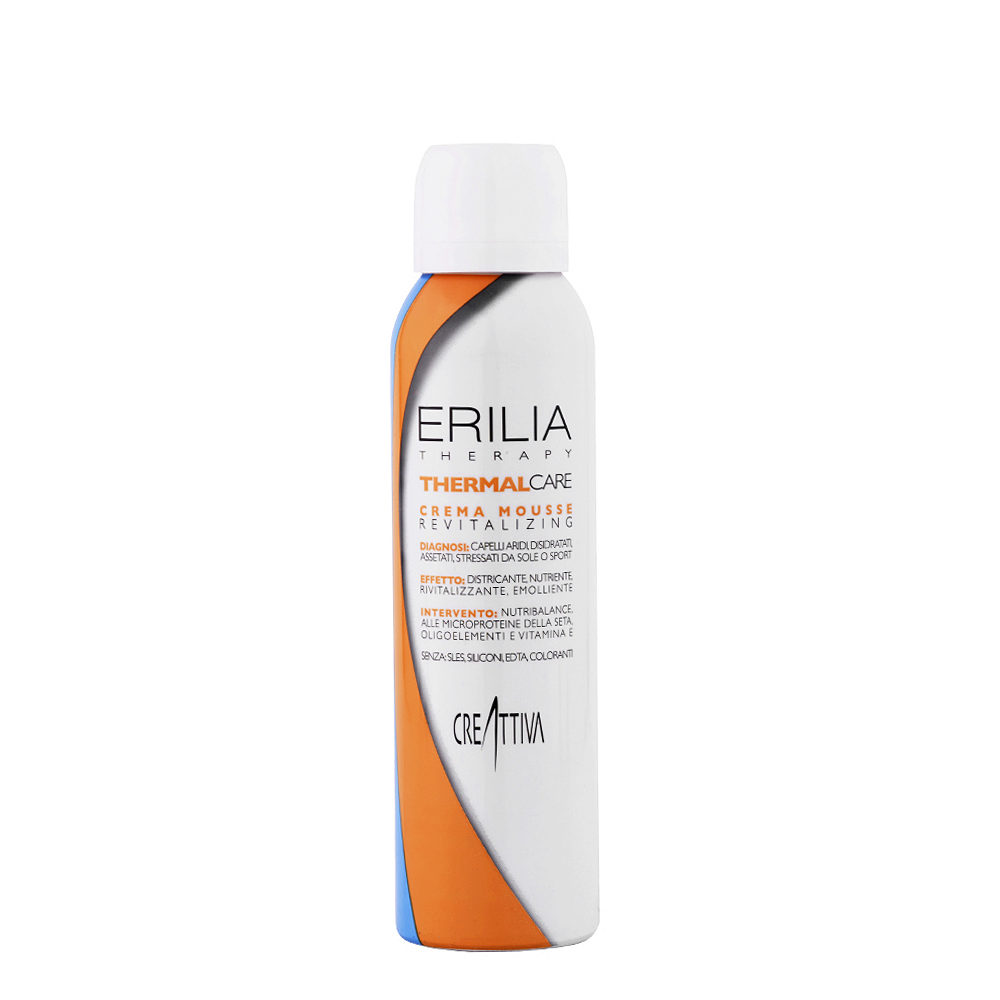 Erilia Thermal care Crema mousse Revitalizing 150ml - conditioning mousse