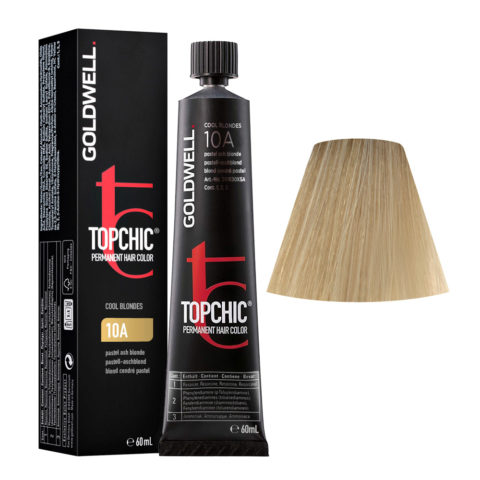 10A Pastel ash blonde Goldwell Topchic Cool blondes tb 60ml