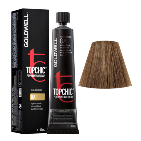 8A Light ash blonde Goldwell Topchic Cool blondes tb 60ml