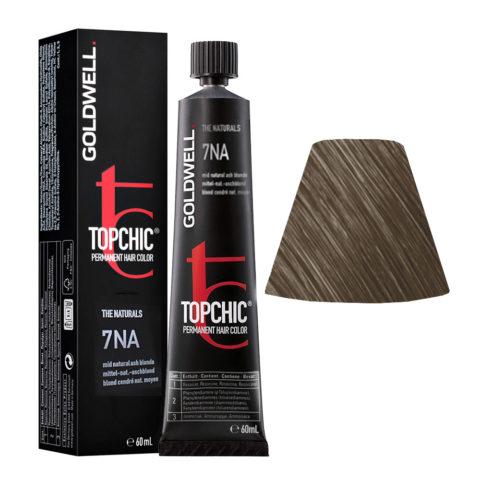 7NA Mid natural ash blonde Goldwell Topchic Naturals tb 60ml