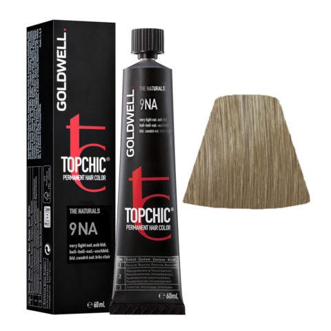 9NA Very light natural ash blonde Goldwell Topchic Naturals tb 60ml