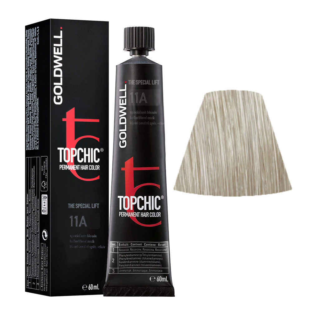 11A Special ash blonde Goldwell Topchic Special lift tb 60ml