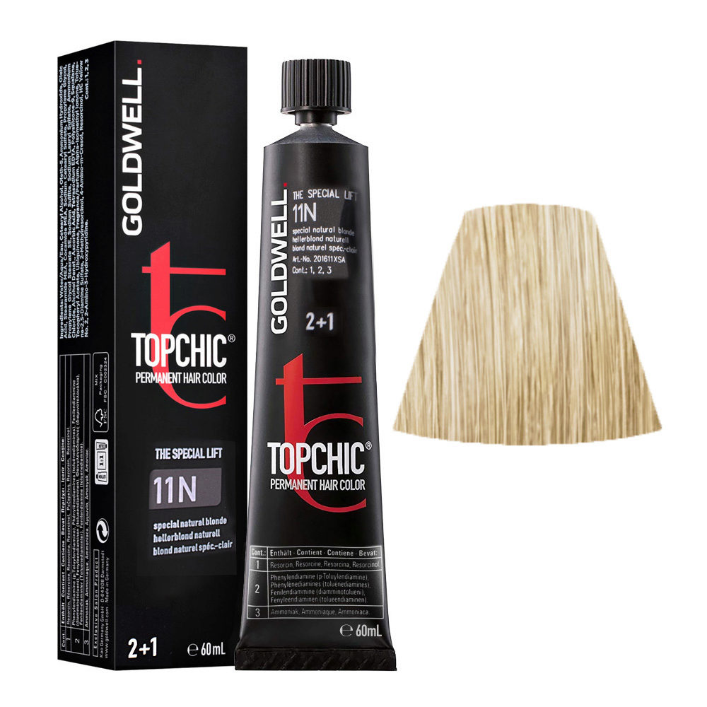 11N Special natural gold Goldwell Topchic Special lift tb 60ml