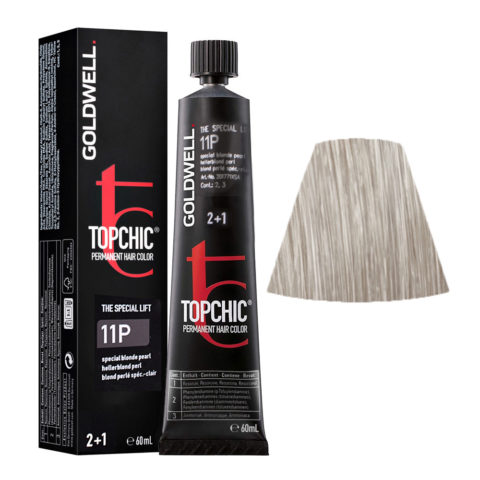 11P Special blonde pearl Goldwell Topchic Special lift tb 60ml