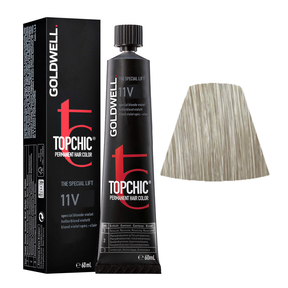 11V Special blonde violet Goldwell Topchic Special lift tb 60ml