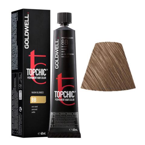 8B Seasand Goldwell Topchic Warm blondes tb 60ml