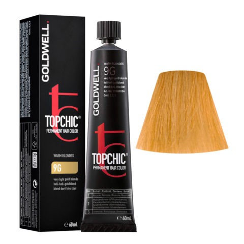9G Very light gold blonde Goldwell Topchic Warm blondes tb 60ml