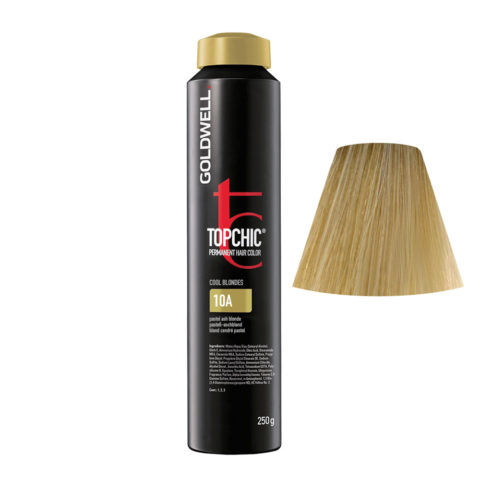 10A Pastel ash blonde Goldwell Topchic Cool blondes can 250gr