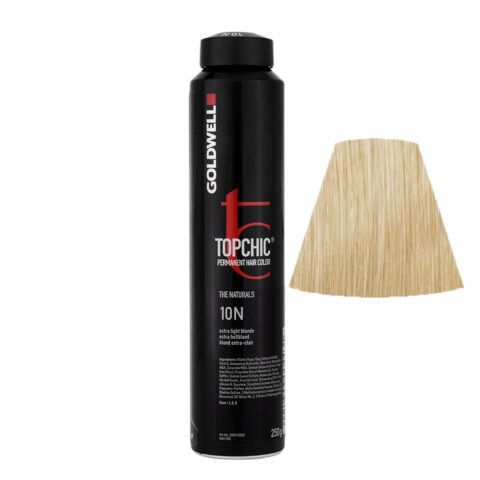 10N Extra light blonde Goldwell Topchic Naturals can 250gr