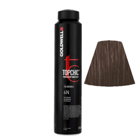 6N Dark blonde Goldwell Topchic Naturals can 250gr