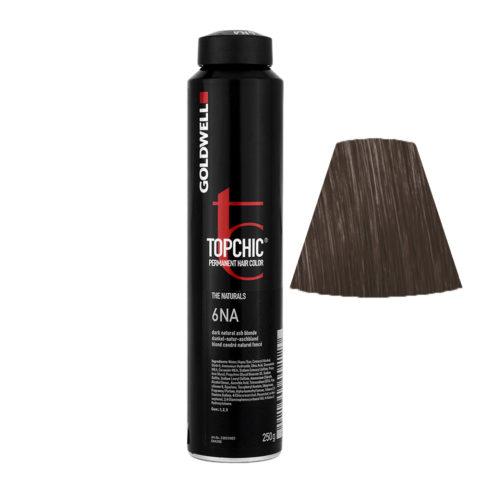 6NA Dark natural ash blonde Goldwell Topchic Naturals can 250gr