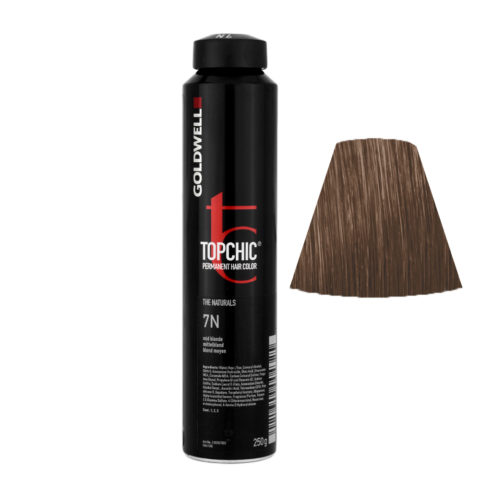 7N Mid blonde Goldwell Topchic Naturals can 250gr