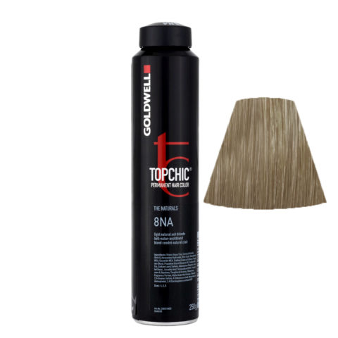 8NA Light natural ash blonde Goldwell Topchic Naturals can 250gr