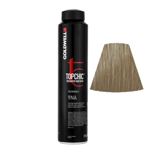 9NA Very light natural ash blonde Goldwell Topchic Naturals can 250gr