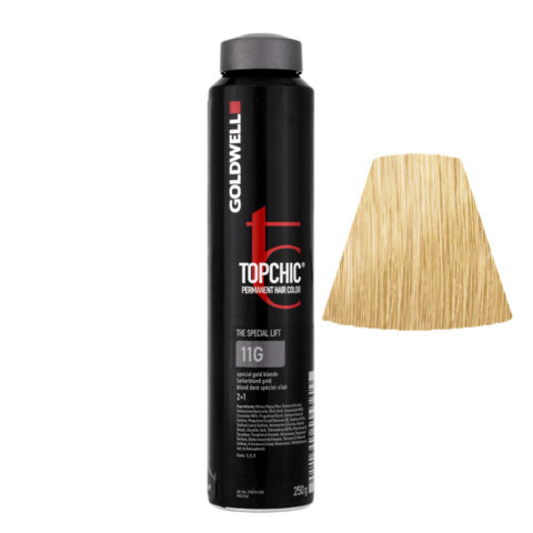 11G Special beige gold Goldwell Topchic Special lift can 250gr