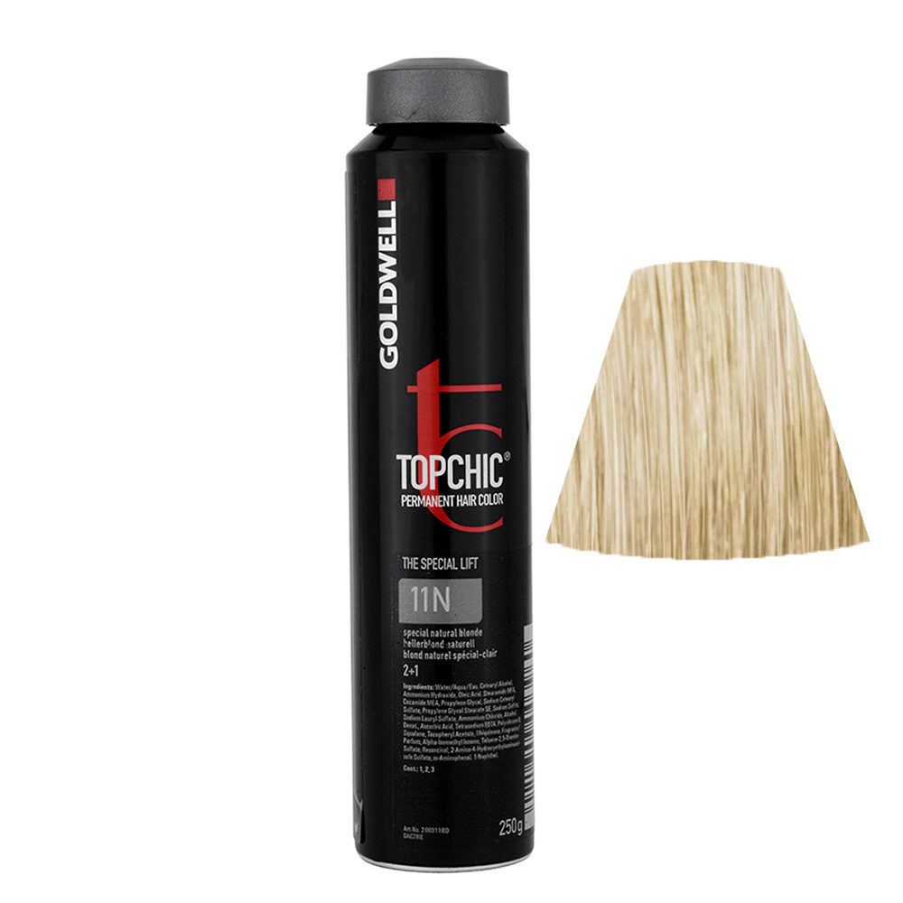 11N Special natural gold Goldwell Topchic Special lift can 250gr