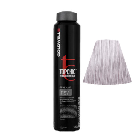 11SV Special silver violet blonde Goldwell Topchic Special lift can 250gr