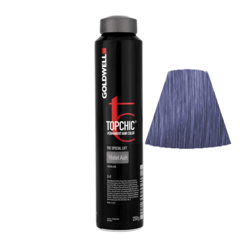 VIOLET ASH Violet ash Goldwell Topchic Special lift can 250gr