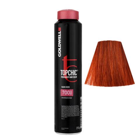 7OO MAX Sensational orange Goldwell Topchic Warm reds can 250gr