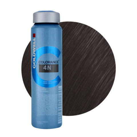 4N Mid brown Goldwell Colorance Naturals can 120ml