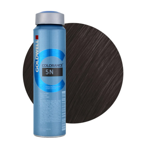 5N Light brown Goldwell Colorance Naturals can 120ml