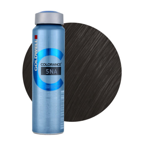 5NA Light natural ash brown Goldwell Colorance Cool browns can 120ml