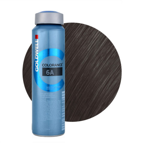 6A Dark ash blonde Goldwell Colorance Cool browns can 120ml