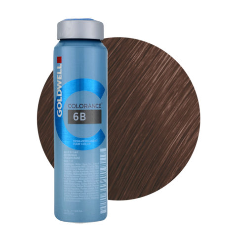 6B Gold brown Goldwell Colorance Warm browns can 120ml