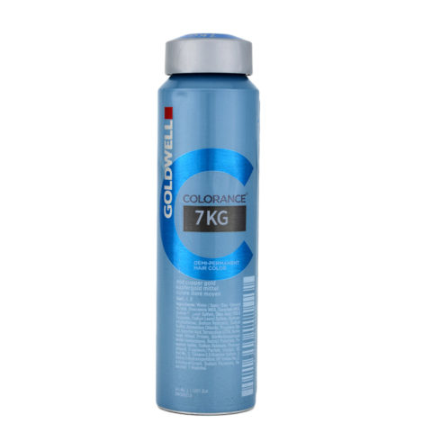 7KG Mid copper gold Goldwell Colorance Warm reds can 120ml