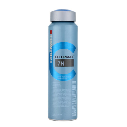 7N Mid blonde Goldwell Colorance Naturals can 120ml