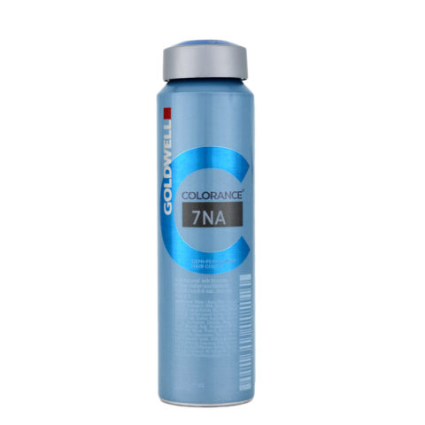 7NA Mid natural ash blonde Goldwell Colorance Cool browns can 120ml