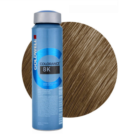8K Light copper blonde Goldwell Colorance Warm reds can 120ml