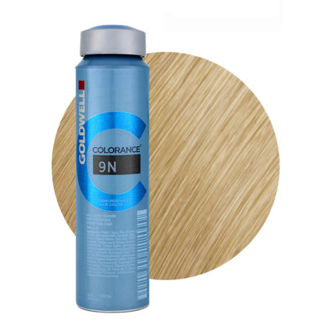 9N Very light blonde Goldwell Colorance Naturals can 120ml