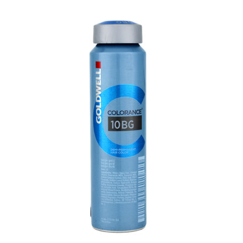 10BG Beige gold Goldwell Colorance Warm blondes can 120ml