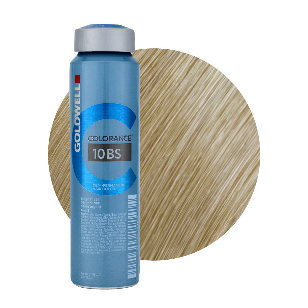 10BS Beige silver Goldwell Colorance Cool blondes can 120ml