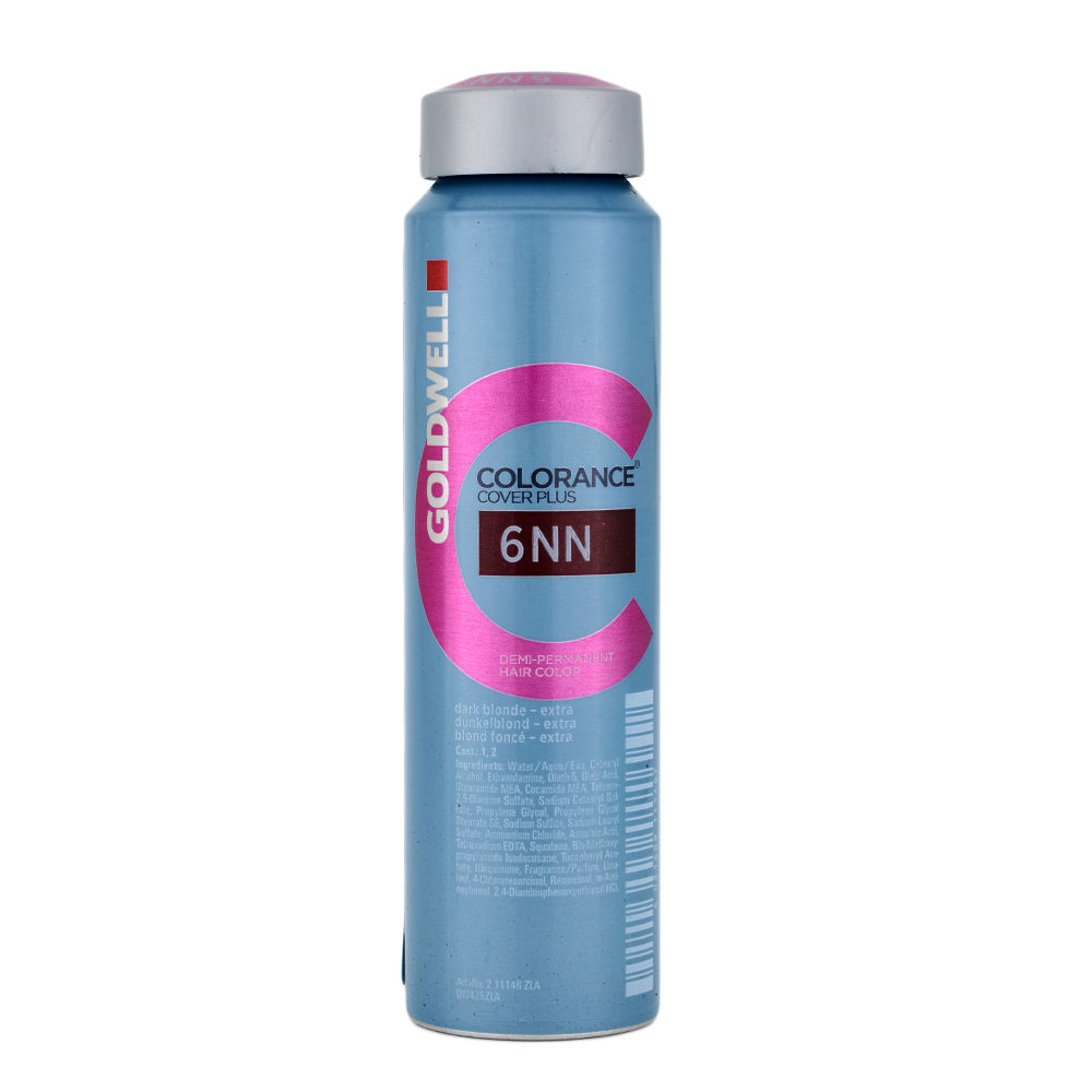 6NN Dark blonde extra Goldwell Colorance Cover plus Naturals can 120ml