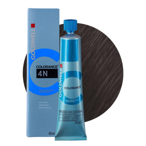 4N Mid brown Goldwell Colorance Naturals tb 60ml