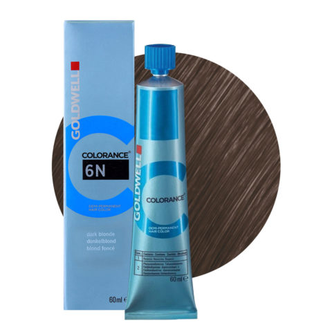 6N Dark blonde Goldwell Colorance Naturals tb 60ml