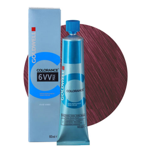 6VV MAX Vivid violet Goldwell Colorance Cool reds tb 60ml