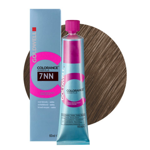7NN Mid blonde extra Goldwell Colorance Cover plus Naturals tb 60ml