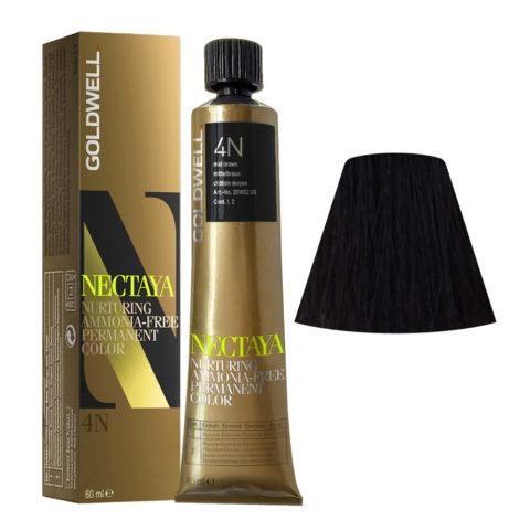 4N Mid brown Goldwell Nectaya Naturals tb 60ml