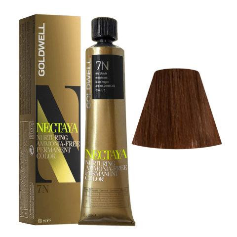 7N Mid blonde Goldwell Nectaya Naturals tb 60ml