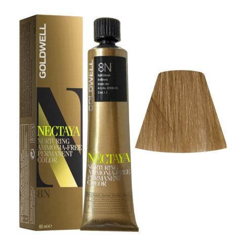 8N Light blonde Goldwell Nectaya Naturals tb 60ml