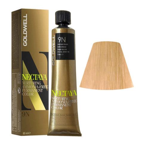 9N Very light blonde Goldwell Nectaya Naturals tb 60ml