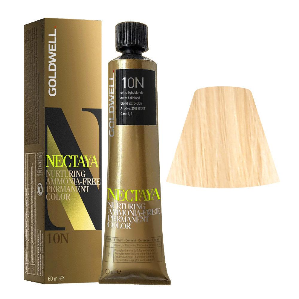 10N Extra light blonde Goldwell Nectaya Naturals tb 60ml